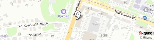 Спецназ на карте Нижнего Новгорода