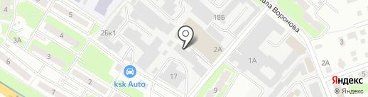 РесурсЭнергоПроект на карте Нижнего Новгорода