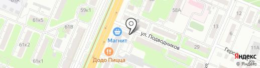 РубикСофт на карте Нижнего Новгорода