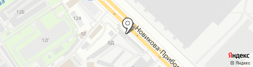ФЕНИКС-НН на карте Нижнего Новгорода