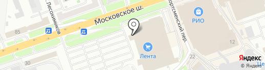 Банкомат, Кредит Европа банк на карте Нижнего Новгорода