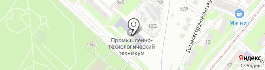 Центр-А на карте Нижнего Новгорода