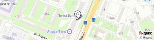 Burrico на карте Нижнего Новгорода