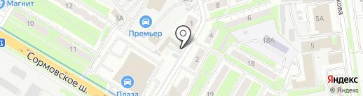 БИЗНЕСМЕД на карте Нижнего Новгорода