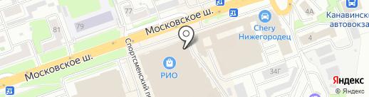 ВКУСниНО на карте Нижнего Новгорода