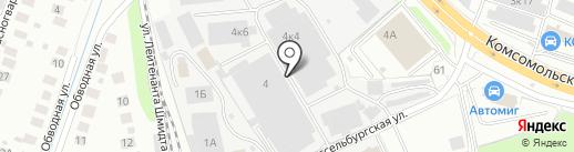 LYO на карте Нижнего Новгорода