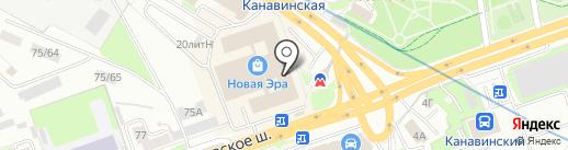 Драйв клуб Вояж на карте Нижнего Новгорода