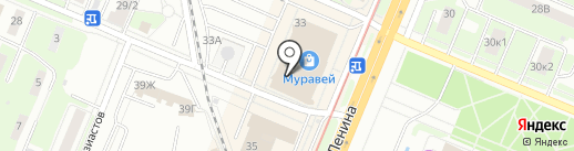 Триколор ТВ на карте Нижнего Новгорода