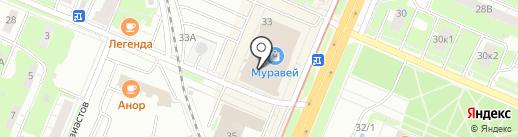 Гео-тур на карте Нижнего Новгорода