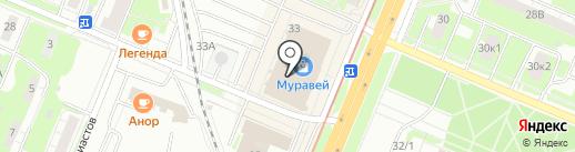 Black and white на карте Нижнего Новгорода