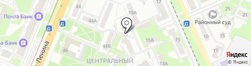 Хороший на карте Нижнего Новгорода