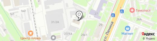 YourPleasure.su на карте Нижнего Новгорода