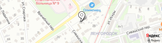 DeLux Komplex на карте Нижнего Новгорода