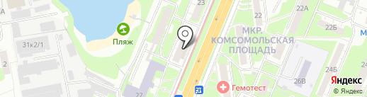 ННВ на карте Нижнего Новгорода