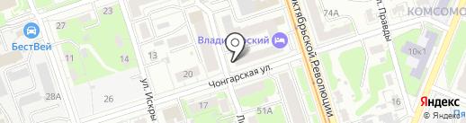 Лакомка на карте Нижнего Новгорода