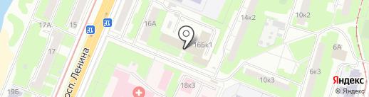 Развитие на карте Нижнего Новгорода