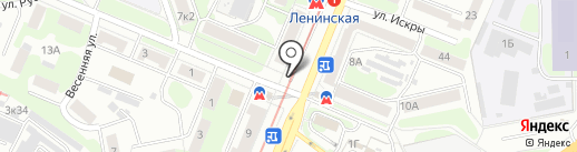 Автопроспект на карте Нижнего Новгорода