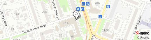 Нижегородский информационно-вычислительный центр на карте Нижнего Новгорода