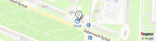 ServiceMobile на карте Нижнего Новгорода