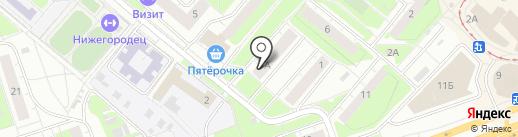 СТУДИЯ ПРОФИ-НН на карте Нижнего Новгорода