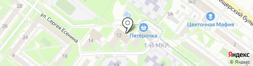 Pixel на карте Нижнего Новгорода