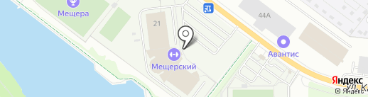 ФанЗона на карте Нижнего Новгорода