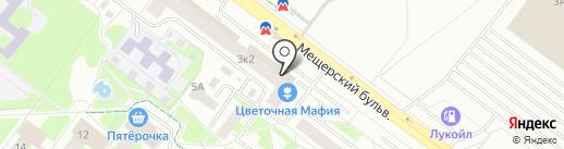 СОЦИАЛЬНЫЕ УСЛУГИ-ЗДОРОВАЯ СТРАНА на карте Нижнего Новгорода