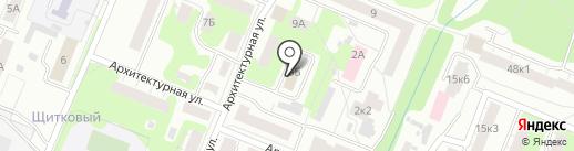 ТрансАналит на карте Нижнего Новгорода