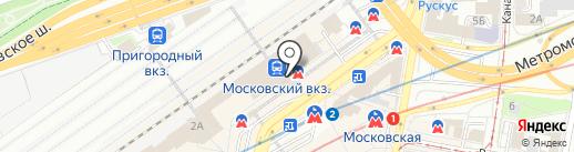 КДО на карте Нижнего Новгорода