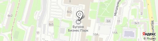 Fusion на карте Нижнего Новгорода