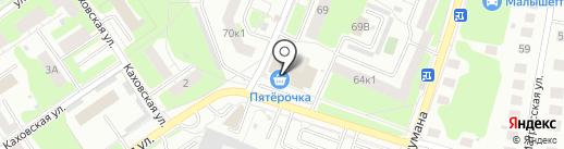 Церковная лавка на карте Нижнего Новгорода