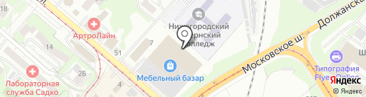 Str мебель на карте Нижнего Новгорода