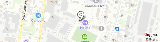 Оосинкан на карте Нижнего Новгорода