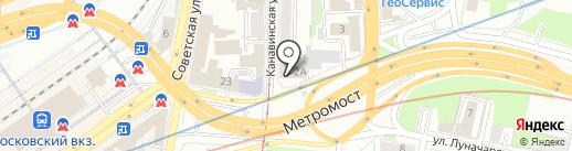 Гарант Навигатор на карте Нижнего Новгорода