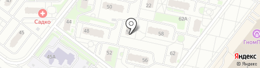 Medusa lounge на карте Нижнего Новгорода