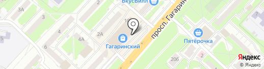 Unozero на карте Нижнего Новгорода