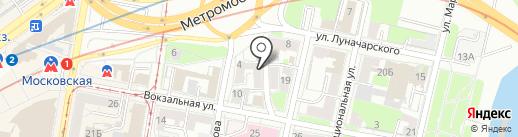 Российский Общественный совет по Надзору в области кредитования на карте Нижнего Новгорода