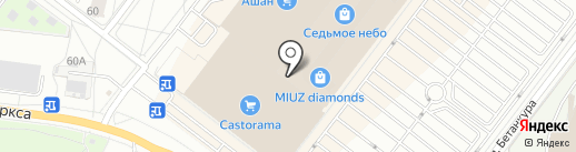 Читайна на карте Нижнего Новгорода