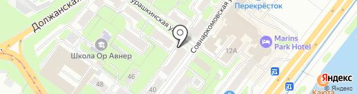 Онис-Климат на карте Нижнего Новгорода