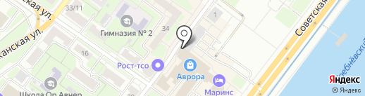 МегаФон ритейл на карте Нижнего Новгорода