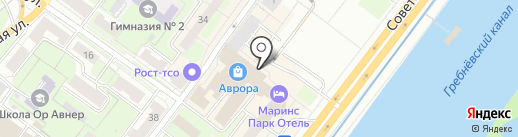 Azart на карте Нижнего Новгорода