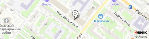 Каракум на карте Нижнего Новгорода
