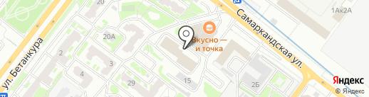Go Кофе на карте Нижнего Новгорода