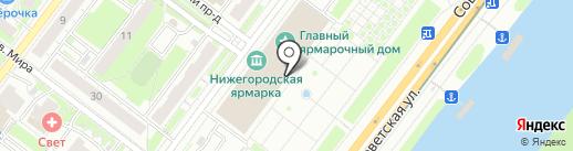 Leagel на карте Нижнего Новгорода