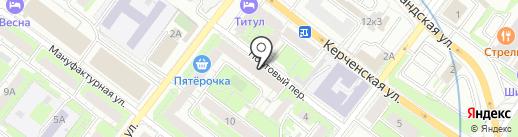Поволжье-Фарм на карте Нижнего Новгорода