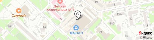 Скобяная лавка на карте Нижнего Новгорода