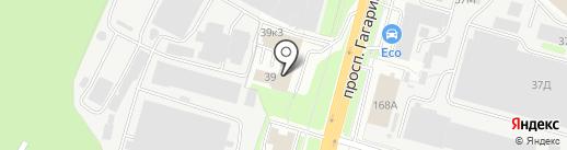 ПК52 на карте Нижнего Новгорода