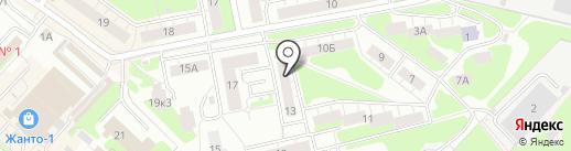 Малинка на карте Нижнего Новгорода