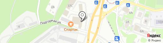 Энерго-Металл на карте Нижнего Новгорода