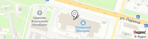 Каприз на карте Нижнего Новгорода